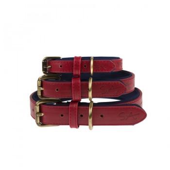 Rotes Hundehalsband, 3 Größen
