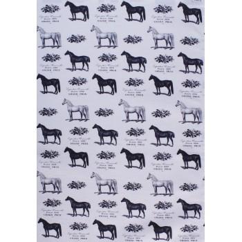 """Geschirrtuch """"Black Horse"""""""