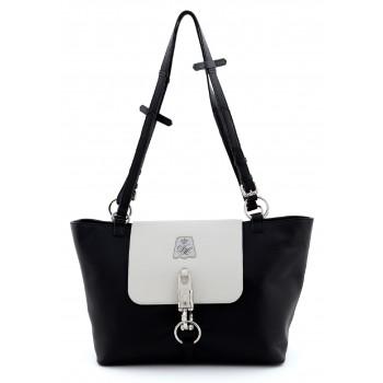 """Handtasche """"Rein Bag"""", s/w"""