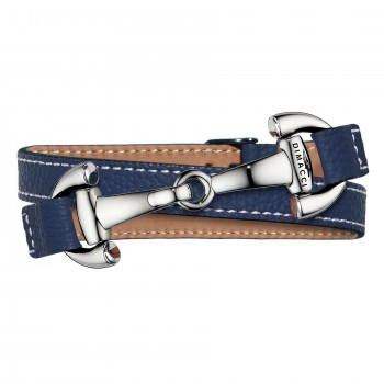 Trensen Armband in Marineblau
