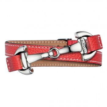 Trensenarmband in Rot