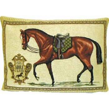 """Gobelinkissen """"Saddle Club"""""""