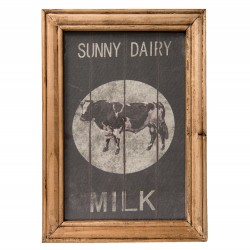 "Kuhbild ""Sunny Dairy Milk"""