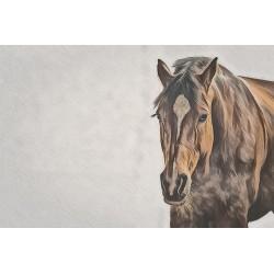 "Leinwand ""Quarter Horse"""