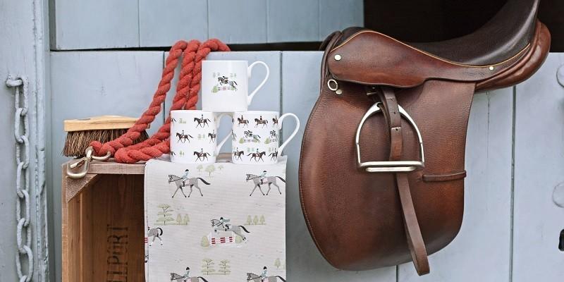 Exklusive Pferdegeschenke: Geschenkpapier & Tüten