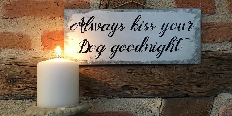 Hunde-/Katzenfans & Tierfreunde: Bilder, Schilder, Tafeln & Magnete